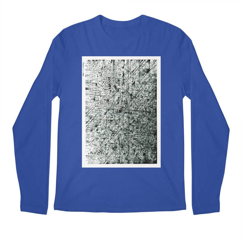 Drawing Blog No.5 - 11.11.13 Men's Regular Longsleeve T-Shirt by schizo pop