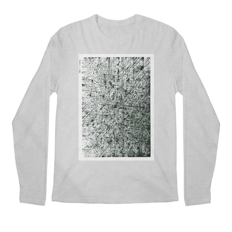Drawing Blog No.5 - 11.11.13 Men's Regular Longsleeve T-Shirt by schizo pop