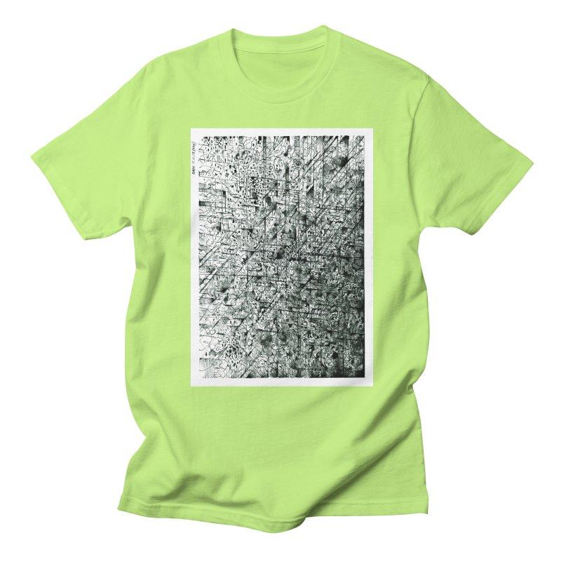 Drawing Blog No.5 - 11.11.13 Men's Regular T-Shirt by schizo pop
