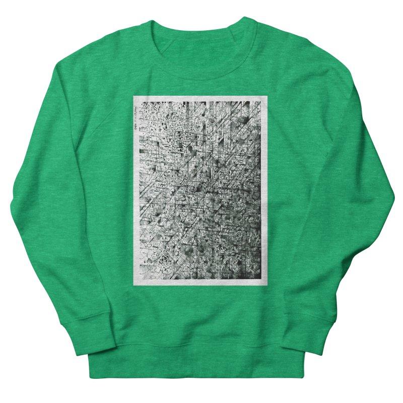 Drawing Blog No.5 - 11.11.13 Women's Sweatshirt by schizo pop
