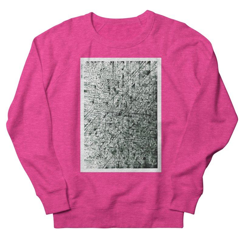 Drawing Blog No.5 - 11.11.13 Women's French Terry Sweatshirt by schizo pop