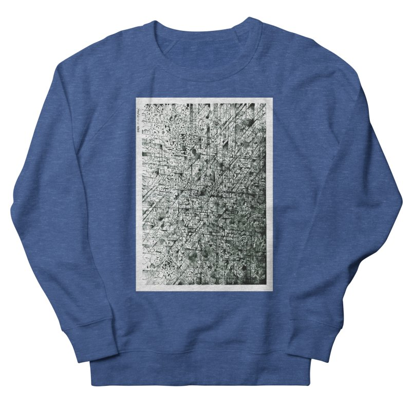 Drawing Blog No.5 - 11.11.13 Men's Sweatshirt by schizo pop