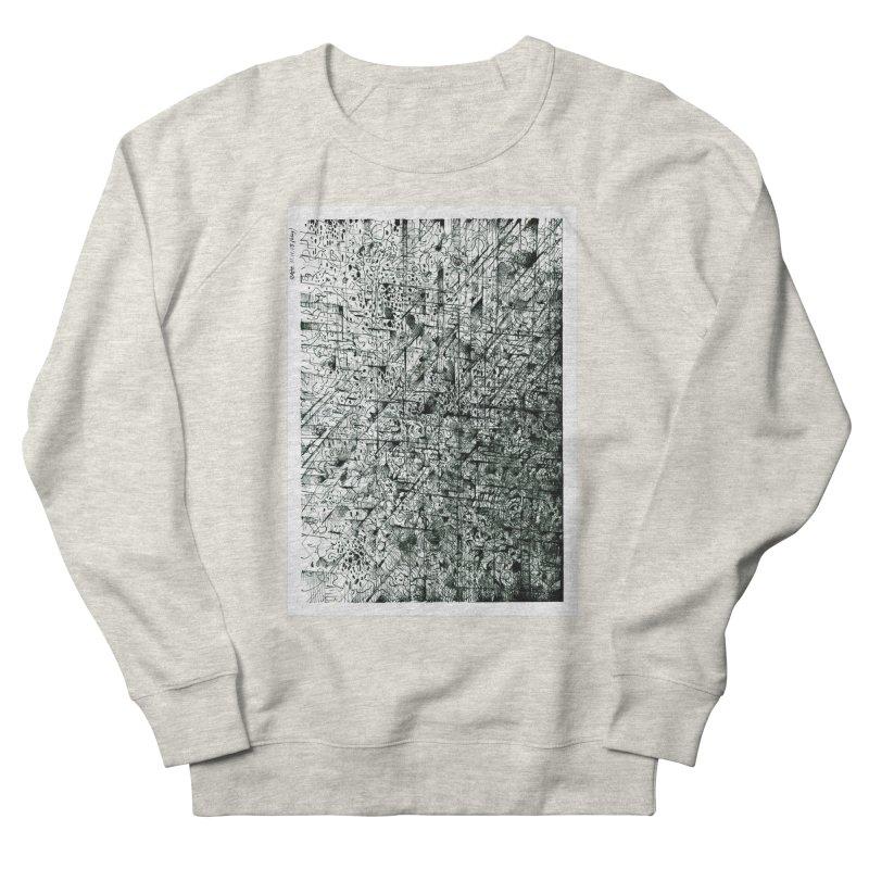 Drawing Blog No.5 - 11.11.13 Men's French Terry Sweatshirt by schizo pop