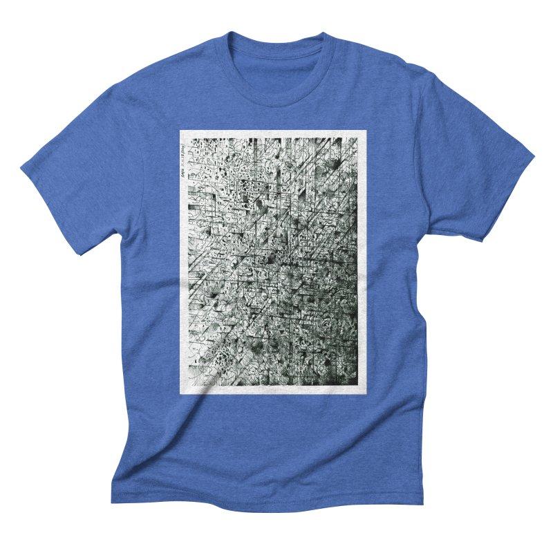 Drawing Blog No.5 - 11.11.13 Men's Triblend T-Shirt by schizo pop