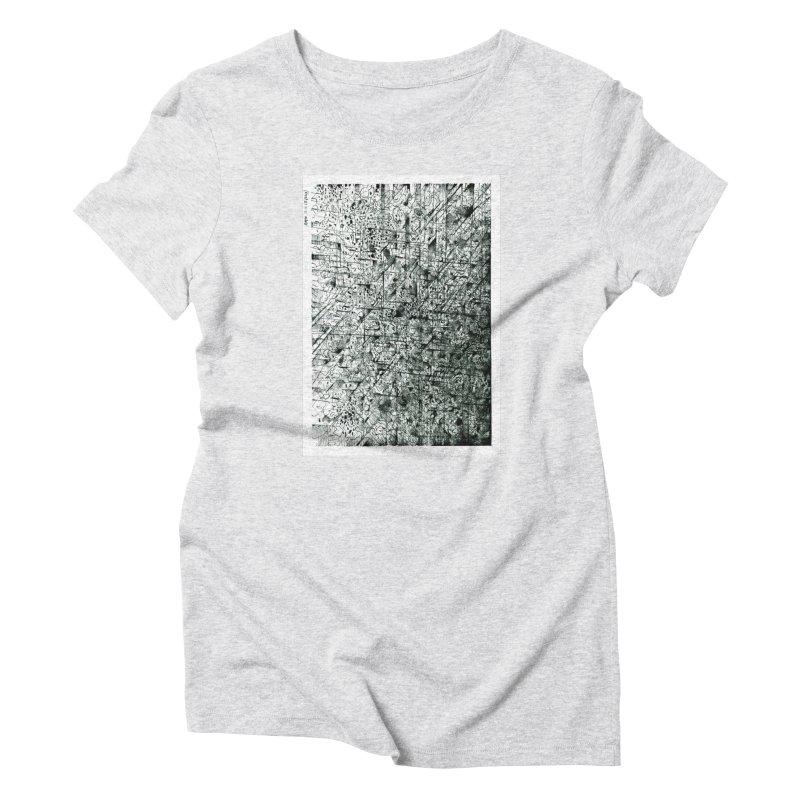 Drawing Blog No.5 - 11.11.13 Women's T-Shirt by schizo pop