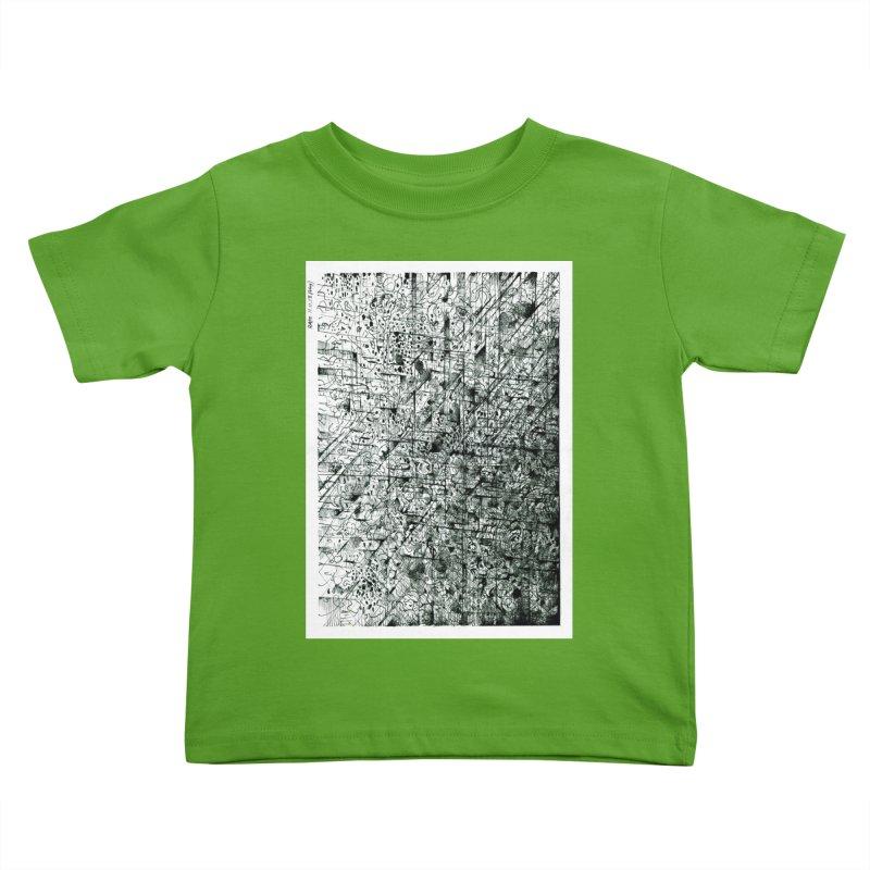 Drawing Blog No.5 - 11.11.13 Kids Toddler T-Shirt by schizo pop