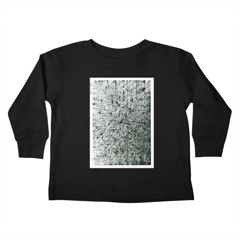 Drawing Blog No.5 - 11.11.13 Kids Toddler Longsleeve T-Shirt by schizo pop