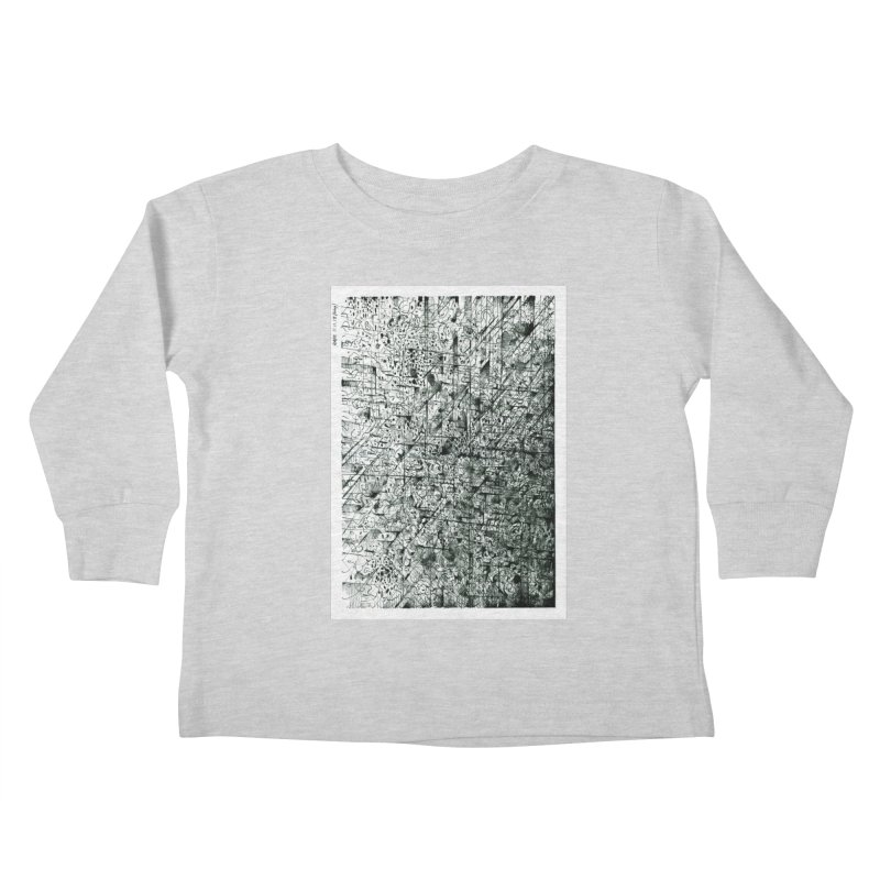 Drawing Blog No.5 - 11.11.13 Kids Toddler Longsleeve T-Shirt by schizo pop