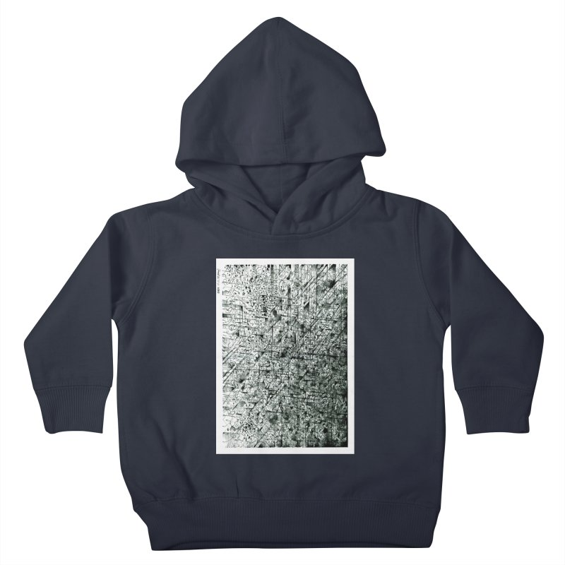 Drawing Blog No.5 - 11.11.13 Kids Toddler Pullover Hoody by schizo pop