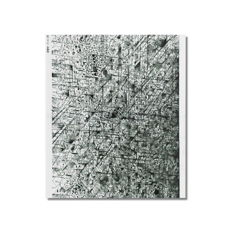 Drawing Blog No.5 - 11.11.13 Home Mounted Acrylic Print by schizo pop