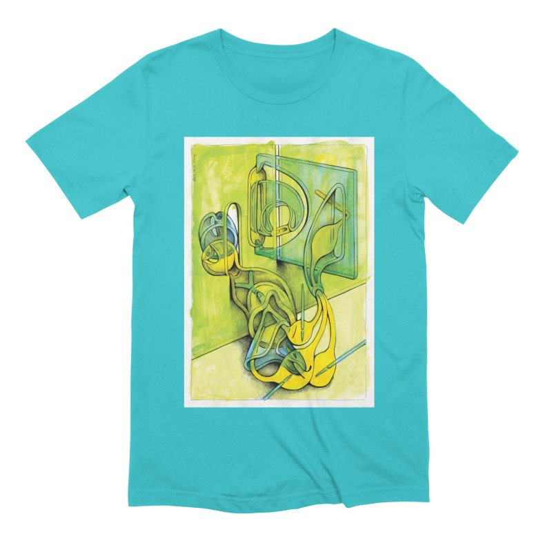 Drawing Blog No.5 - 14.12.13 Men's Extra Soft T-Shirt by schizo pop