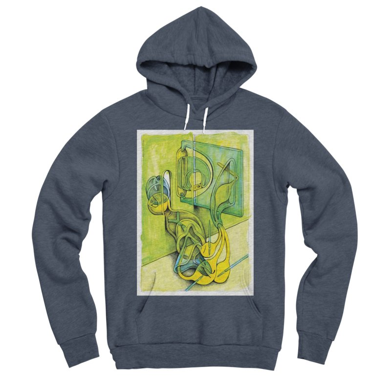 Drawing Blog No.5 - 14.12.13 Men's Sponge Fleece Pullover Hoody by schizo pop