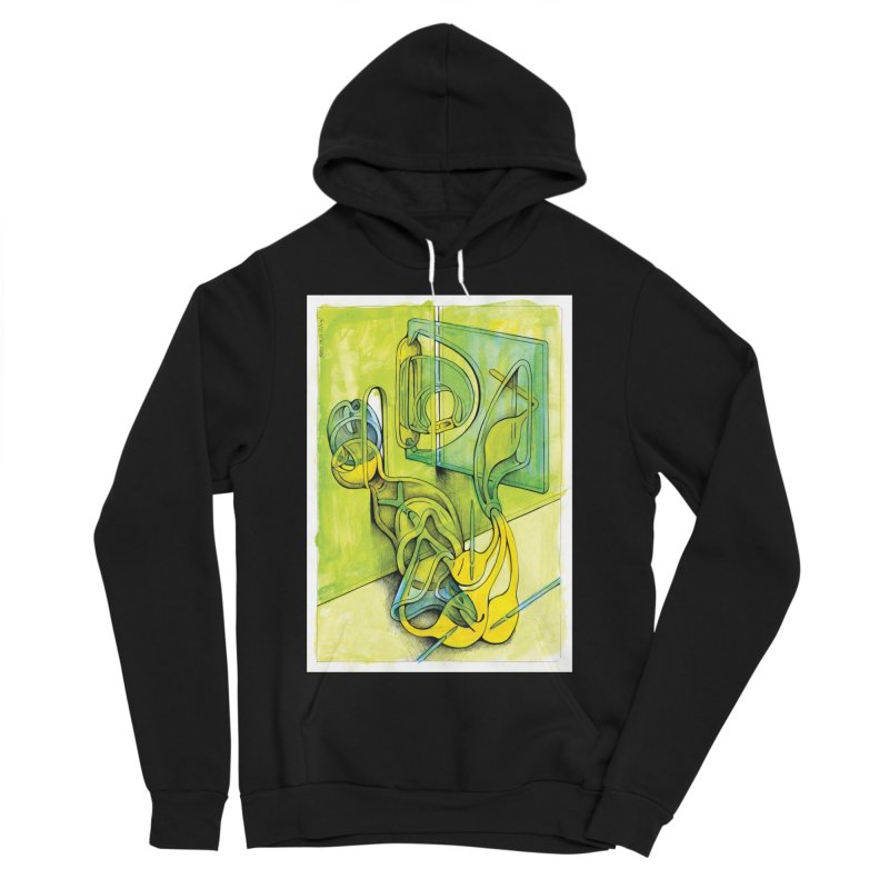 Drawing Blog No.5 - 14.12.13 Women's Sponge Fleece Pullover Hoody by schizo pop