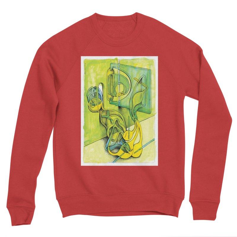 Drawing Blog No.5 - 14.12.13 Men's Sponge Fleece Sweatshirt by schizo pop