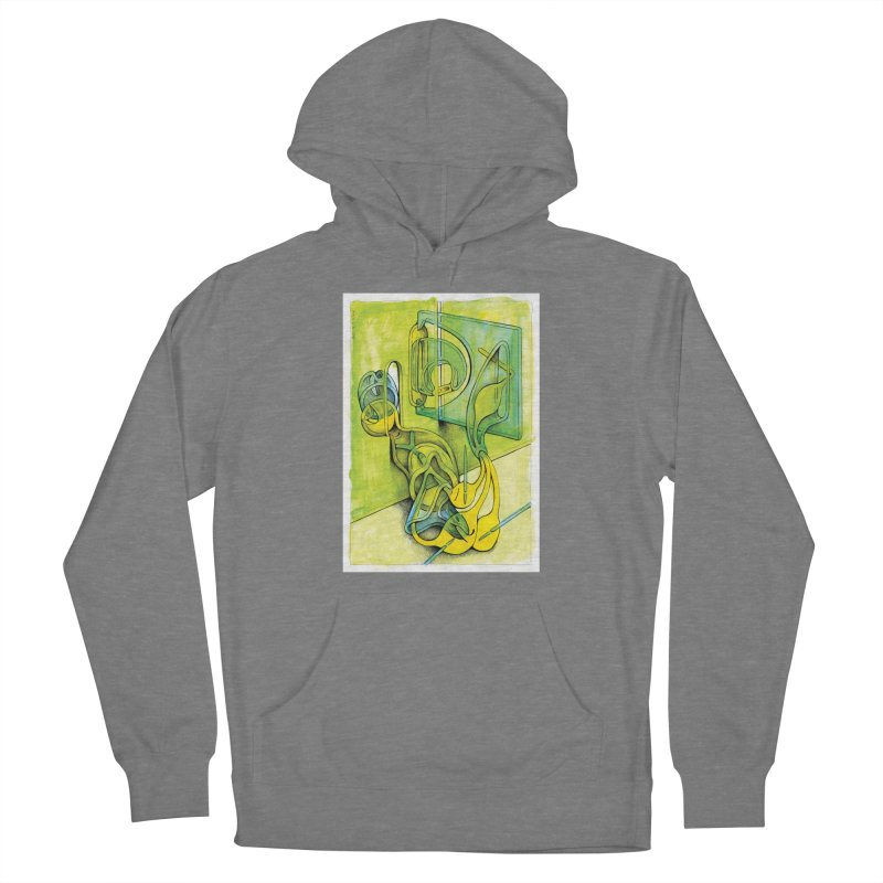 Drawing Blog No.5 - 14.12.13 Women's Pullover Hoody by schizo pop