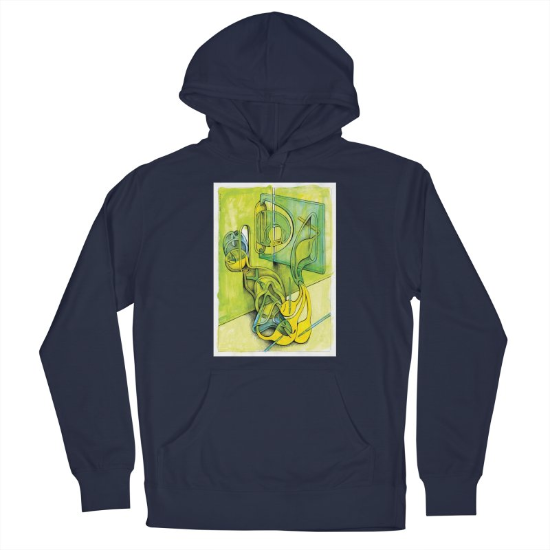 Drawing Blog No.5 - 14.12.13 Men's Pullover Hoody by schizo pop