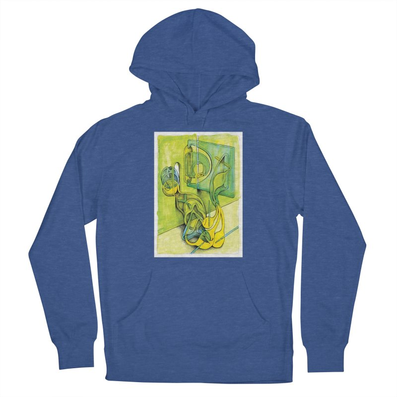Drawing Blog No.5 - 14.12.13 Women's French Terry Pullover Hoody by schizo pop