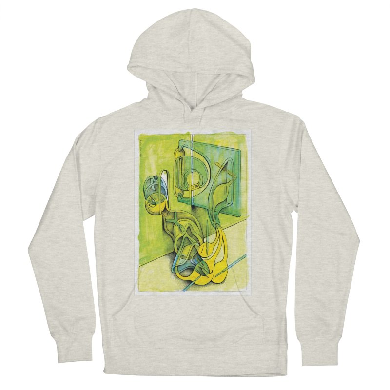 Drawing Blog No.5 - 14.12.13 Men's French Terry Pullover Hoody by schizo pop