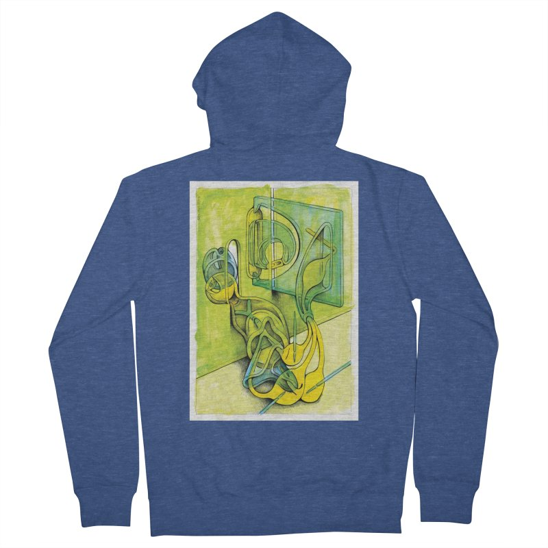 Drawing Blog No.5 - 14.12.13 Women's French Terry Zip-Up Hoody by schizo pop