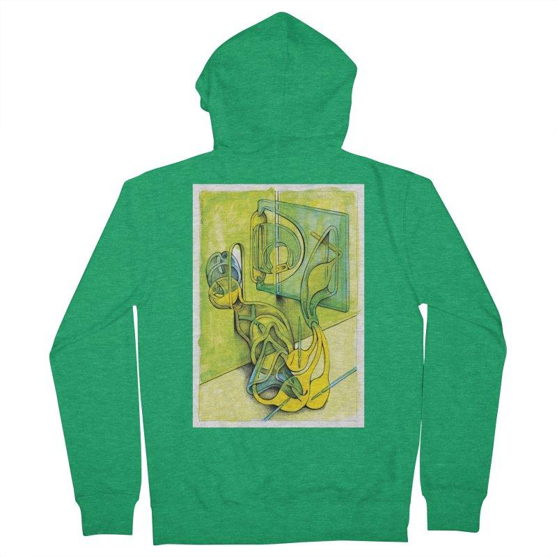 Drawing Blog No.5 - 14.12.13 Men's Zip-Up Hoody by schizo pop