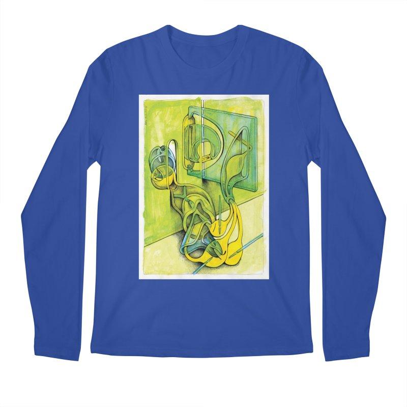 Drawing Blog No.5 - 14.12.13 Men's Regular Longsleeve T-Shirt by schizo pop