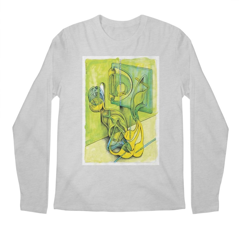 Drawing Blog No.5 - 14.12.13 Men's Regular Longsleeve T-Shirt by schizo pop