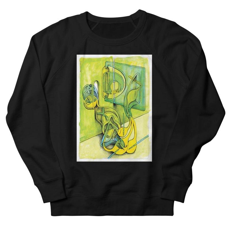 Drawing Blog No.5 - 14.12.13 Men's French Terry Sweatshirt by schizo pop