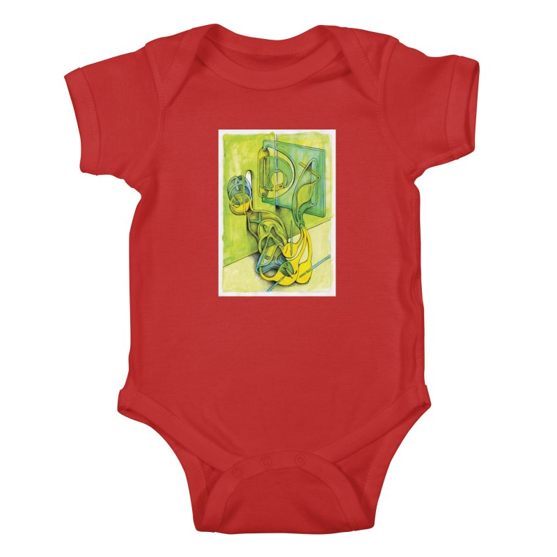 Drawing Blog No.5 - 14.12.13 Kids Baby Bodysuit by schizo pop