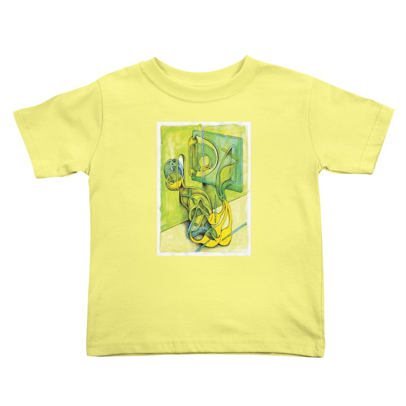 Drawing Blog No.5 - 14.12.13 Kids Toddler T-Shirt by schizo pop