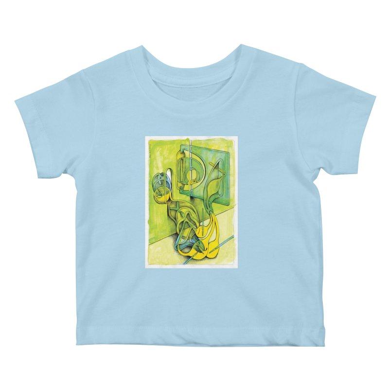 Drawing Blog No.5 - 14.12.13 Kids Baby T-Shirt by schizo pop