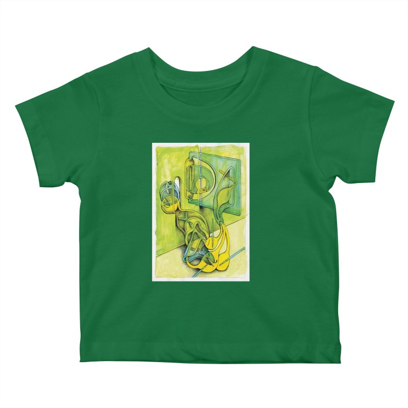 Drawing Blog No.5 - 14.12.13 Kids Baby T-Shirt by schizo pop