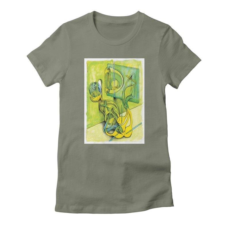 Drawing Blog No.5 - 14.12.13 Women's T-Shirt by schizo pop