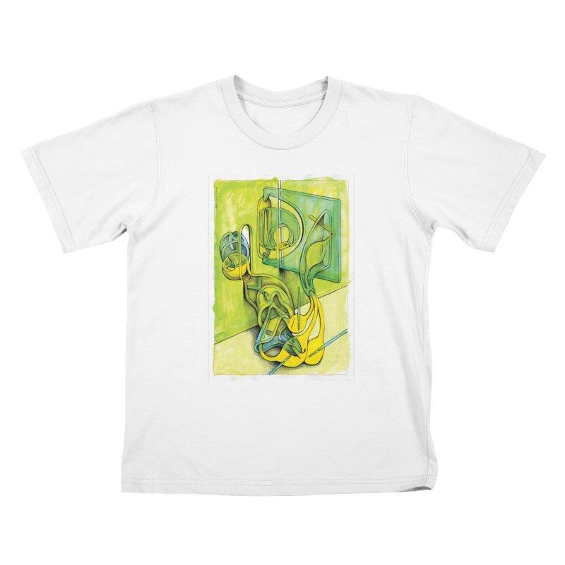Drawing Blog No.5 - 14.12.13 Kids T-Shirt by schizo pop