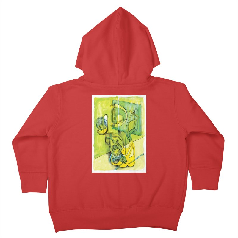 Drawing Blog No.5 - 14.12.13 Kids Toddler Zip-Up Hoody by schizo pop