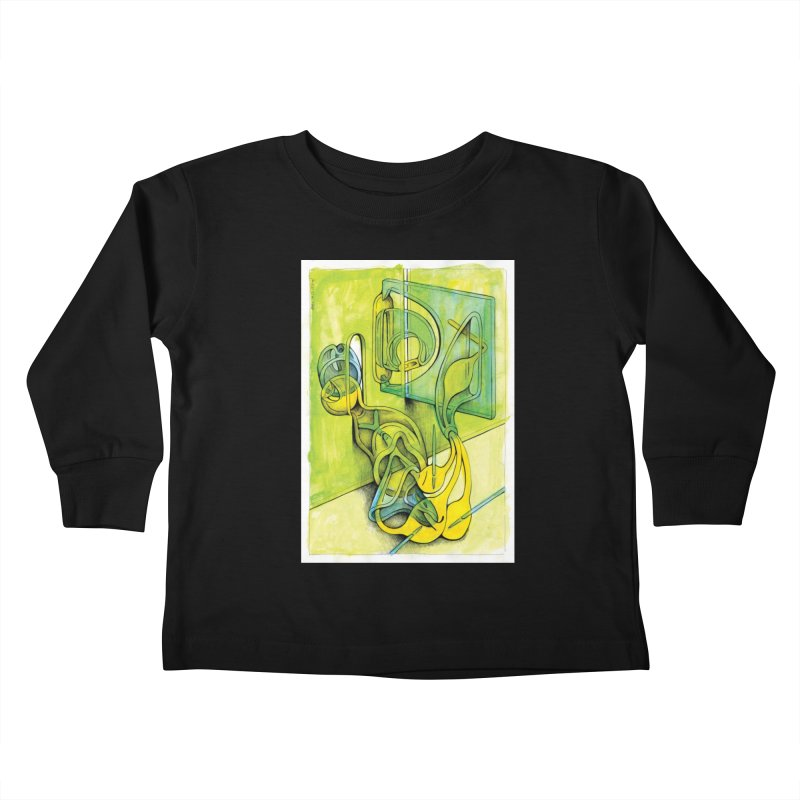 Drawing Blog No.5 - 14.12.13 Kids Toddler Longsleeve T-Shirt by schizo pop