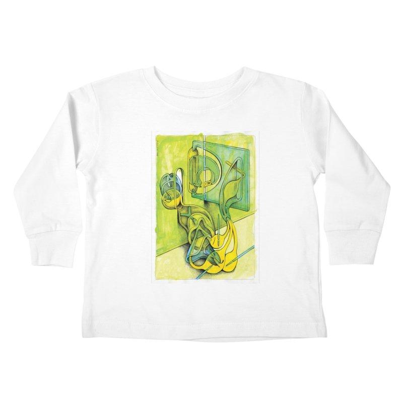 Drawing Blog No.5 - 14.12.13 Kids Toddler Longsleeve T-Shirt by schizo pop