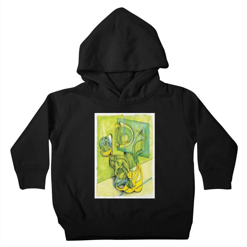 Drawing Blog No.5 - 14.12.13 Kids Toddler Pullover Hoody by schizo pop