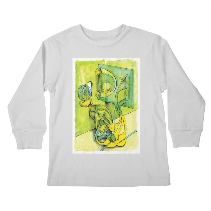 Drawing Blog No.5 - 14.12.13 Kids Longsleeve T-Shirt by schizo pop