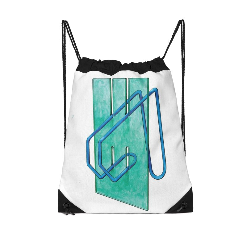 Drawing Blog No.5 - 10.4.14 Accessories Drawstring Bag Bag by schizo pop