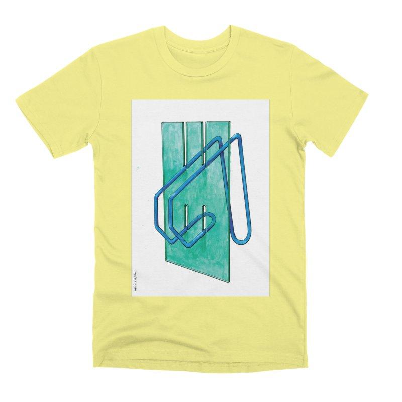Drawing Blog No.5 - 10.4.14 Men's Premium T-Shirt by schizo pop
