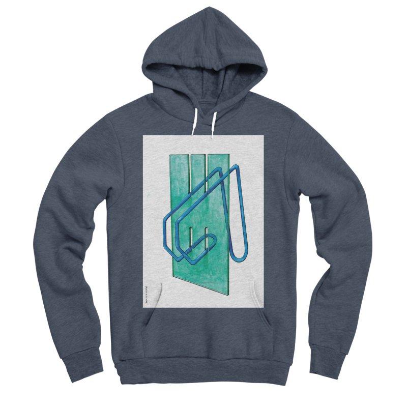 Drawing Blog No.5 - 10.4.14 Men's Sponge Fleece Pullover Hoody by schizo pop