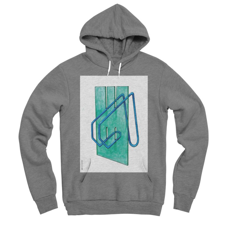 Drawing Blog No.5 - 10.4.14 Men's Sponge Fleece Pullover Hoody by schizo pop