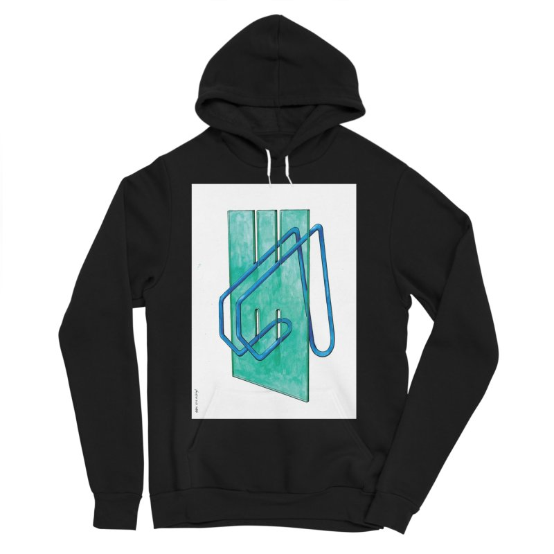 Drawing Blog No.5 - 10.4.14 Women's Sponge Fleece Pullover Hoody by schizo pop