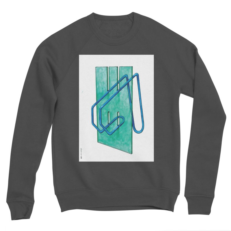 Drawing Blog No.5 - 10.4.14 Men's Sweatshirt by schizo pop