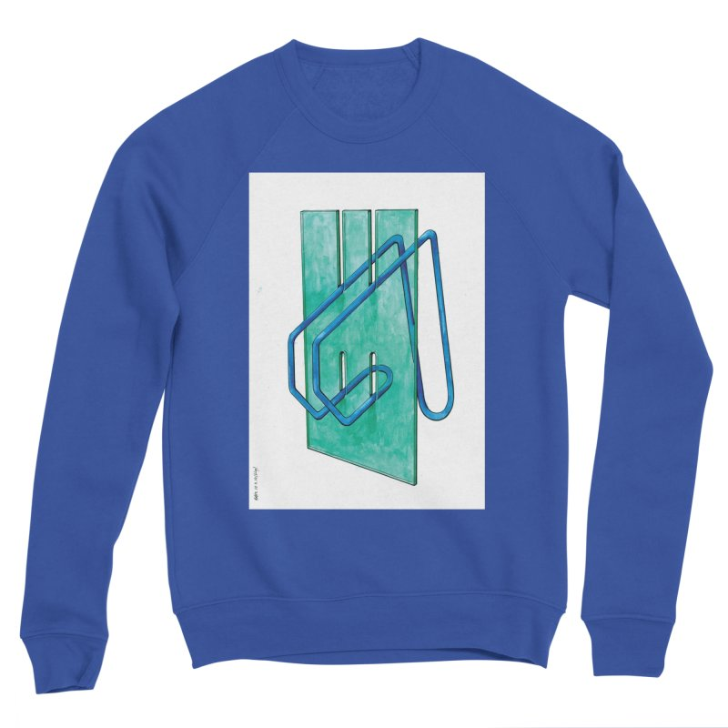 Drawing Blog No.5 - 10.4.14 Men's Sweatshirt by schizo pop