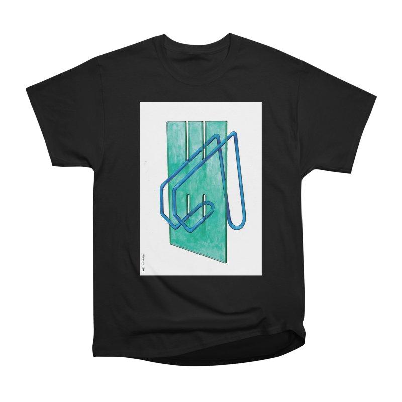 Drawing Blog No.5 - 10.4.14 Men's Heavyweight T-Shirt by schizo pop
