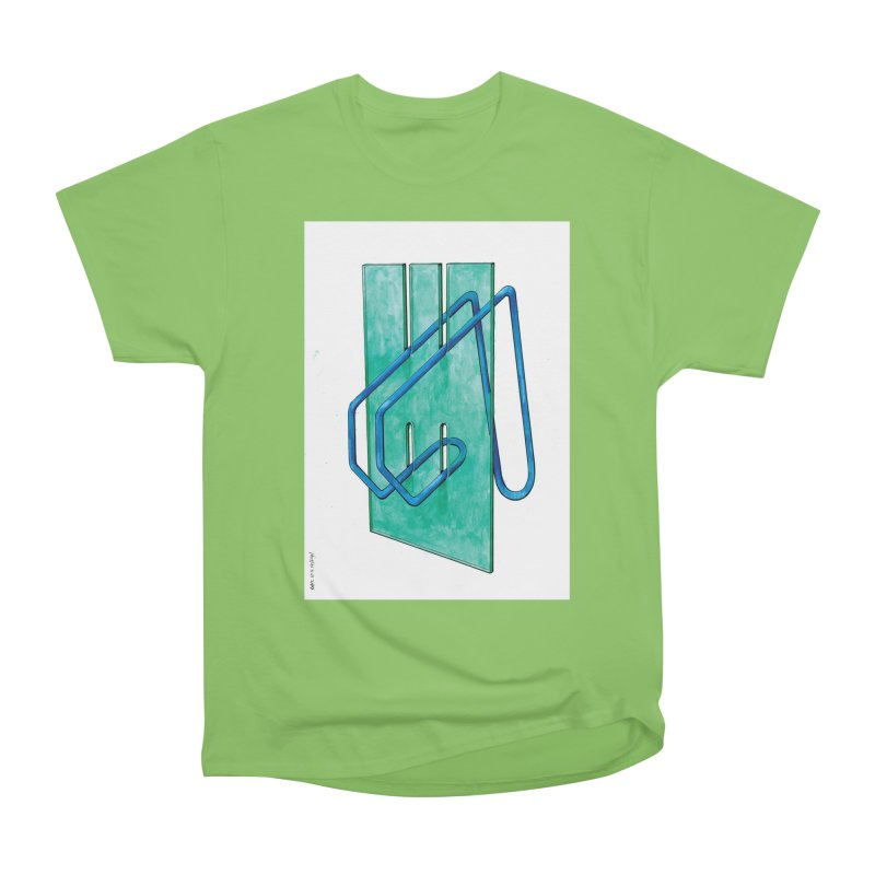 Drawing Blog No.5 - 10.4.14 Women's Heavyweight Unisex T-Shirt by schizo pop
