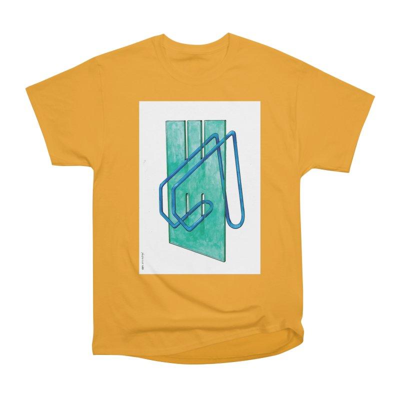 Drawing Blog No.5 - 10.4.14 Women's Heavyweight Unisex T-Shirt by schizo pop
