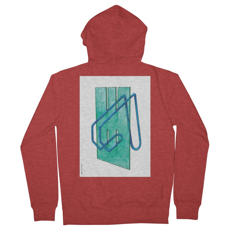 Drawing Blog No.5 - 10.4.14 Women's French Terry Zip-Up Hoody by schizo pop