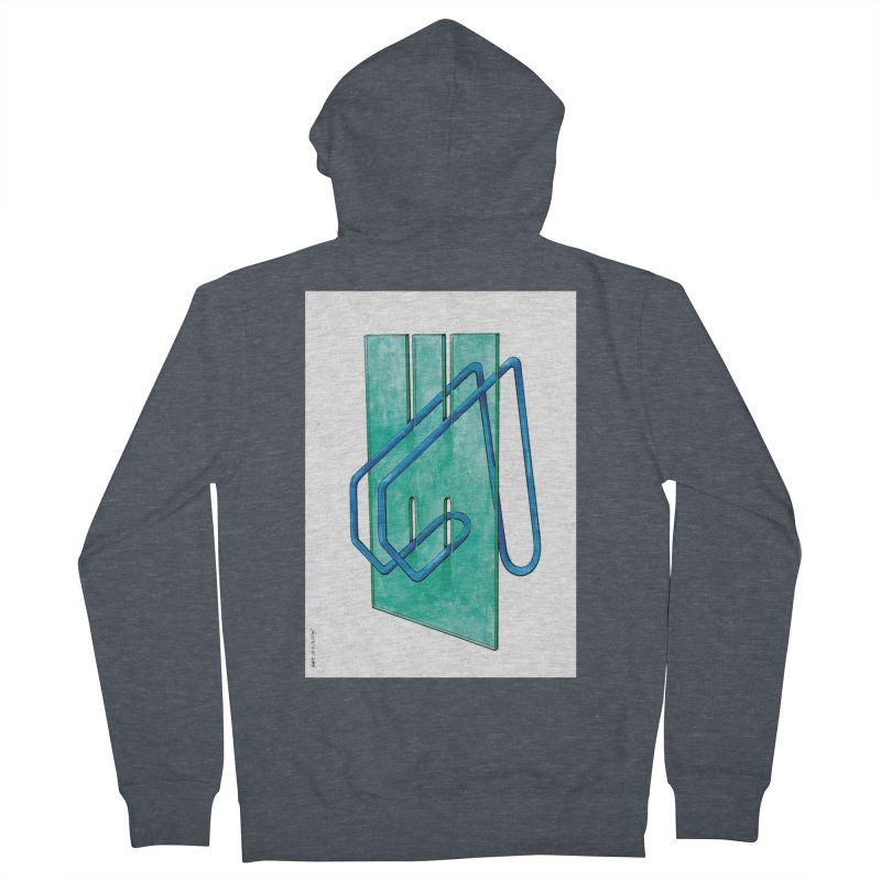 Drawing Blog No.5 - 10.4.14 Men's French Terry Zip-Up Hoody by schizo pop